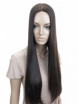 натуральная накладка длинные волосы