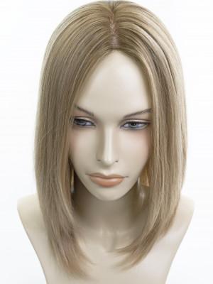 натуральная накладка с имитацией кожи головы. Фото 1